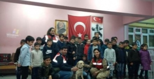 Jandarma'dan Çocuklara Deprem Eğitimi