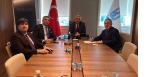 Milletvekili Erol Mermutlu ve Görür ile bir araya geldi
