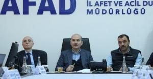Devlet, Elazığ ve Malatya'ya 473 Milyon Lira ayni ve nakdi yardım yaptı