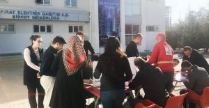 FIRAT EDAŞ Çalışanları Kan Bağışladı