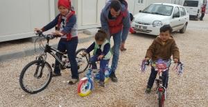 Muhammet Emin Bisikletine Kavuştu