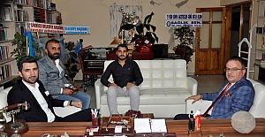 AK Parti'den Gazetemize Ziyaret