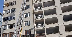 Boş Binanın Çatısında Çıkan Yangın Söndürüldü