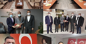 Başkan Arslan'dan Siyasi Partilere Ziyaret