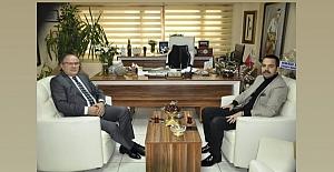 Başkan Yaşlı'dan Gazetemize Ziyaret