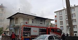 Elazığ#039;da Çatı Yangını