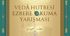 Elazığ'da Vedâ Hutbesi Ezbere Okuma Yarışması