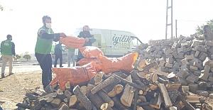 İHH Kovancılar Şubesinden Odun Kömür Yardımı