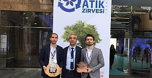 Türkiye birincisi projeye bir ödülde...