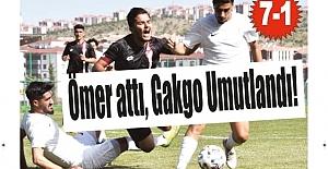 Ömer attı, Gakgo Umutlandı! 7-1