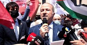 Binlerce Yürek  Filistin Mazlumları İçin Buluştu