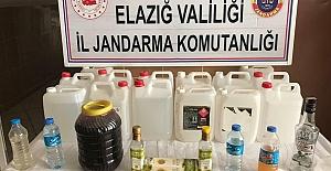 Elazığ'da sahte içki ve kaçak ürün operasyonunda 2 şüpheli yakalandı