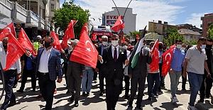 Eroldan İsraile tepki yürüyüşü