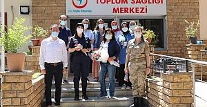 Jandarma'dan Hemşireler Haftasında anlamlı ziyaret