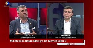"""Milletvekili Erol: """"270 bin TL yardım ettim, 120 bin açıklandı"""""""