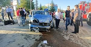 Zincirleme Kazada 19 Kişi Yaralandı