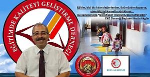 EKG Derneği Başkanı Akgün, Yeni Eğitim Öğretim Yılı Mesajı